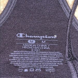 Champion Other - CHAMPION SPORTS BRA BLACK